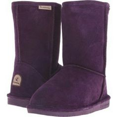 Ladies Bear Paw Boots Brand new fur lined boots. Very comfy and warm!!! Deep purple color!!! Bear Paw Shoes Winter & Rain Boots