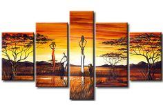 Cuadro sobre lienzo Una niña africana  49269
