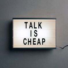 Talk is Cheap | AnOther Loves