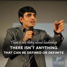Keep Walking, Keep Learning & Keep Leading! www.sujitlalwani.com