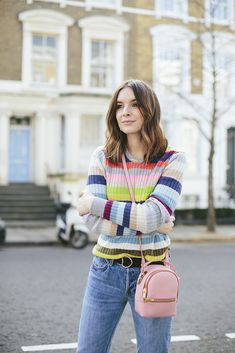 (Jumper: GAP, Belt: ASOS, Jeans: GAP, Bag: C/O Sophie Hulme, Shoes: Superga, Necklace: Minetta) Okay, maybe calling this post 'Spring stripes' is a little premature considering we're still comfortably in February. The other day my mum was talking to me about getting a pedicure so she could wear open toed shoes and I swiftly had to remind her of the season, and the fact that sun does not always equate to heat. In her defensive it has been unseasonably warm (EIGHTEEN DEGREES PEOPLE)- and p...