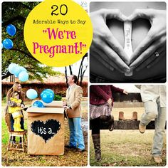 How did you announce to family and friends that you are expecting? Here are 20 expectant parents who announced their pregnancy in creative and clever ways.