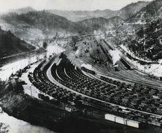 Williamson Railyard, Williamson, WV, 1930's.