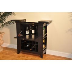 ECI Furniture Gianna Spirit Cabinet 2037-99-WB Bar Furniture, Kitchen Furniture, Diy Bar, Wine Rack, Liquor Cabinet, Spirit, Storage, House, Design