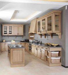 Solid Oak Kitchen Cabinets