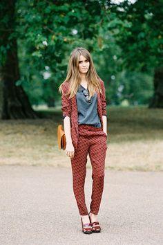 Jade Williams akaSunday Girl, after Burberry, London, September 2012.(image:vanessajackman)