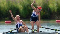 BBC Sport - London 2012 Olympics - Women's Double Sculls : Rowing