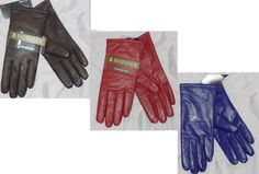 Isotoner Gloves Leather Thinsulate solid colored woman's size 7, 7.5, 8 NEW 26.99 FREE Expedited Shipping  http://cgi.ebay.com/ws/eBayISAPI.dll?ViewItem&item=331307699490