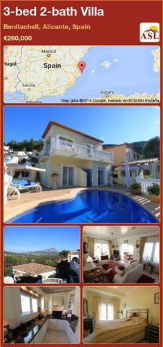 3-bed 2-bath Villa in Benitachell, Alicante, Spain ►€260,000 #PropertyForSaleInSpain