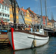 Copenhagen | Boat, Copenhagen, Denmark