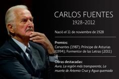 Carlos Fuentes - escritor mexicano