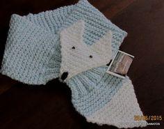 blog da bete artesanatos cachecol infantil raposa lucas