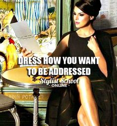 Image is usually the big first impression for most. It says A LOT about you. Make it work for you! ★ If you want to turn your fashion passion into a business or career, get our FREE Wardrobe Essentials Checklists as a great tool to start off! Download >> https://stylistschoolonline.com/personal-stylists-wardrobe-checklist/ ★ Enjoy! Style School. How to become a fashion stylist or personal stylist. #styleschool