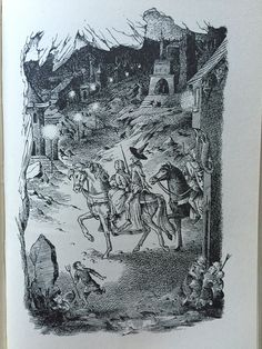 One of Pauline Baynes illustrations for C.S Lewis 'The Silver Chair'