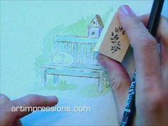 Watercolor Project Series 4, Set 1 tutorial