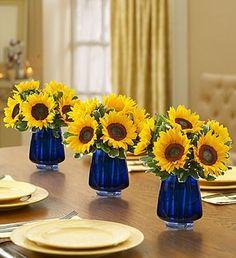 cobalt glassware decor ideas - Yahoo Image Search Results