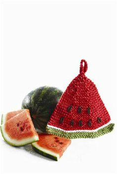 Watermelon Dishcloth