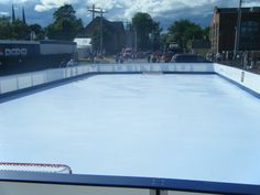 Summerfest Charlottetown PEI 3 V 3 Tournament Synthetic Ice Rink