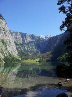 Konigsee in Berchtesgaden - Berchtesgaden National Park, Berchtesgaden, Germany - TripAdvisor Berchtesgaden National Park, Free State, Bavaria, Alps, Trip Advisor, Germany, Mountains, Landscape, Travel