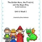 "This packet is a Fifth Grade Treasures Resources for ""The Golden Mare."" These resources compliment 5th grade Treasures (Unit 6 Week 1) ""The Golden ..."