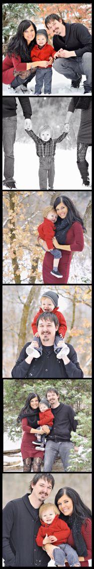 Winter Family Photography   Mallory Wright Photography   Utah Photography   Christmas Family Photos