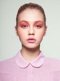 soft-pink matte eyeshadow