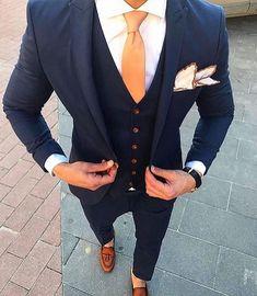 Wedding Suits men suits style -- Click Visit link for more info Best Suits For Men, Cool Suits, Best Wedding Suits For Men, Suit For Men, Tuxedo For Men, Stylish Men, Men Casual, Suit Combinations, Herren Outfit