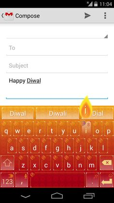 Celebrate Diwali by transforming your Android keyboard with this specially-designed theme.