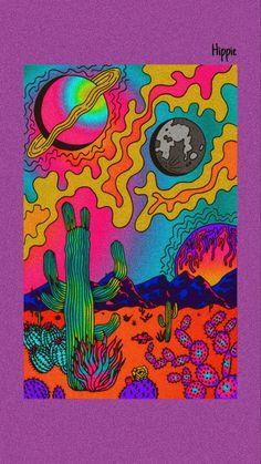 Small Canvas Art, Simple Canvas Paintings, Mini Canvas Art, Indie Drawings, Trippy Drawings, Art Drawings, Hippie Painting, Trippy Painting, Alien Painting