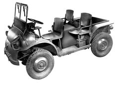 1951 Jeep WAC 4x4 forward control. This military 4x4 was a prototype for the popular forward control commercial vehicles.