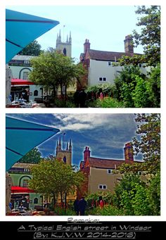 https://flic.kr/p/F9jdsm | Remake: A Typical English street in WindsorOld Version: https://flic.kr/p/reYQAS | ...