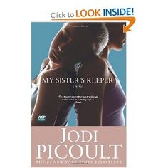 My Sister's Keeper by Jodi Picoult  gripping tale. unique style of writing