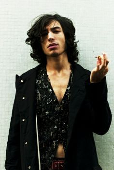 Ezra Miller as Sirius Black --- OH I AM ALL OVER THIS.