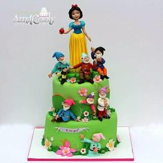 Cake Snow White and the Seven Dwarfs - Cake by Nili Limor
