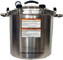 All American Pressure Canner 941 - Capacity - 41 1/2Qts (Liq), 32Pt Jars, 19Qt Jars