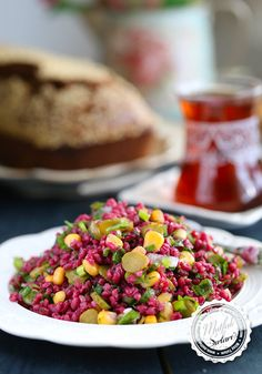 Bulgur Salad with Turnip - Maggie Nelson Recipes Side Recipes, Dog Food Recipes, Salad Recipes, Appetizer Salads, Best Appetizers, Vegetable Side Dishes, Vegetable Recipes, Best Foods For Skin, One Pan Pasta