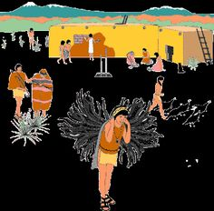 The Ancestral Puebloan farmers. And were Native American culture on the present-day four corners.