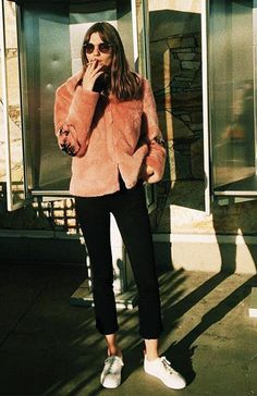 How Instagram's Hippest Girls Are Coping With the Cold via @WhoWhatWearUK