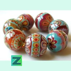 These beads make me want to torch! MonaRAEbeads.com