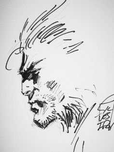Wolverine sketch | Marc Silvestri