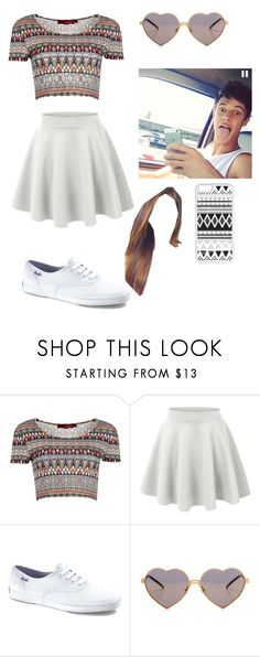"""""""Day with Cameron Dallas"""" by absterkool ❤ liked on Polyvore featuring Boohoo, Keds, Wildfox and CellPowerCases"""