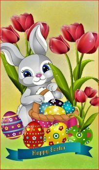 Easter Art, Easter Bunny, Easter Eggs, Easter Wallpaper, Easter Season, Lady Bug, Happy Easter, Tinkerbell, Happy Holidays