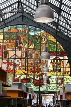 Atarazanas Market in central Malaga.