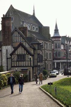 Part of Shrewsbury Town, Shropshire |  credit photmaestro  Birthplace of my great x2 grandparents  (Elisabeth Ellen Richards b. 1865 and John Kynaston b. 1856)