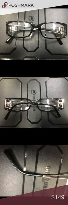 6bfdb031d3933 Versace glasses Black Versace seeing glasses never used! Please let me know  if you have