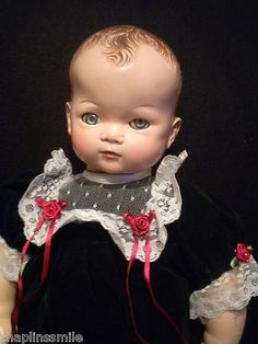 Antique Franken dolly Doll From Haunted House Antique Dolls, Vintage Dolls, Dolly Doll, Haunted Dolls, Lisa S, Hello Dolly, Beautiful Dolls, Composition, Antiques