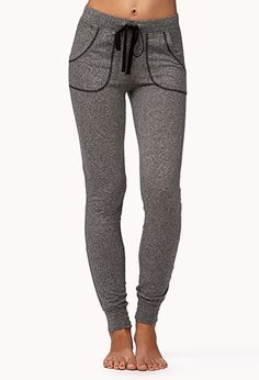 These look unbelievably comfortable! -Heathered Lounge Sweatpants from Forever 21 -$15.80-