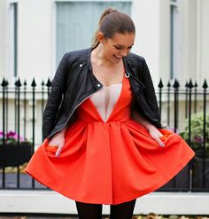 The Elgin Avenue in NEW FLAME dress