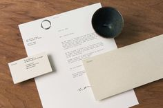 Brand identity, logo and stationery design by New York based Sagmeister & Walsh for contemporary restaurant Otium