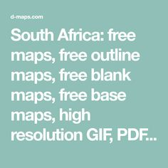 South Africa: free maps, free outline maps, free blank maps, free base maps, high resolution GIF, PDF, CDR, AI, SVG, WMF Map Outline, Free Maps, Great Lakes, Wmf, Base, Wood Projects, South Africa, Wood Working